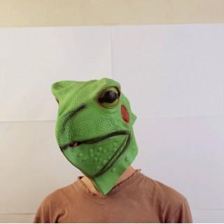 Маска лягушки