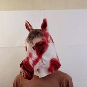 Маска лошади выжившей