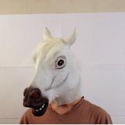 Маска лошади белая