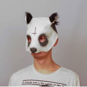 Маска панды Cro
