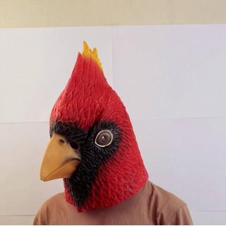 Маска птицы омской